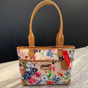 NWT Rossetti Floral Purse Bag w/ Lots of Pockets